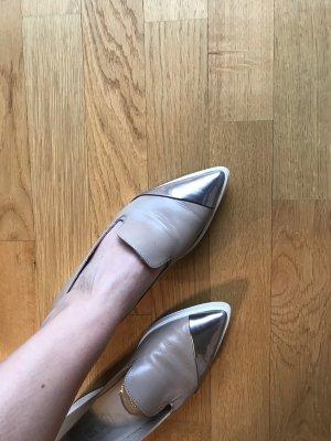 Topmodische Pertini Schuhe Taupe/Puder