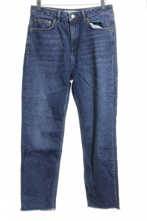 Topshop 7/8-jeans blauw casual uitstraling