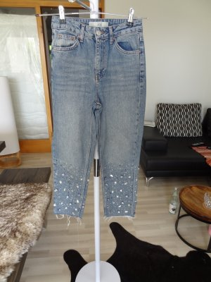 TOPSHOP 7/8 Jeans, blau, Gr. 25, neu!!