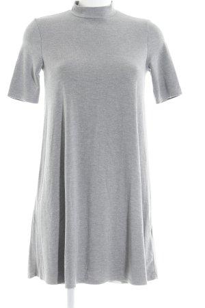 Topshop A-Linien Kleid grau-hellgrau Casual-Look