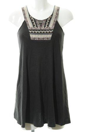Topshop A-Linien Kleid mehrfarbig Boho-Look