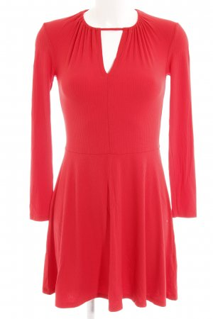 Topshop A-Linien Kleid rot Romantik-Look