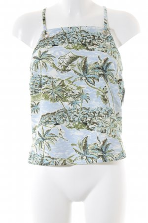Topshop A-Linien Top Motivdruck Beach-Look