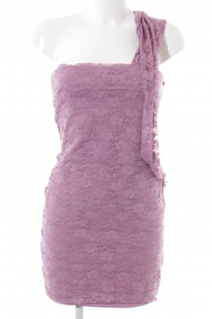 Topshop Abendkleid blasslila Blumenmuster Casual-Look