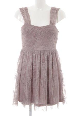 Topshop Abendkleid blasslila florales Muster Elegant