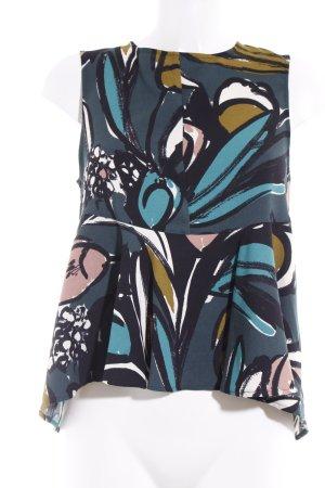 Topshop ärmellose Bluse florales Muster Casual-Look