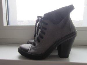 Topshop Ankle Boots grau Wildleder 39 NEU