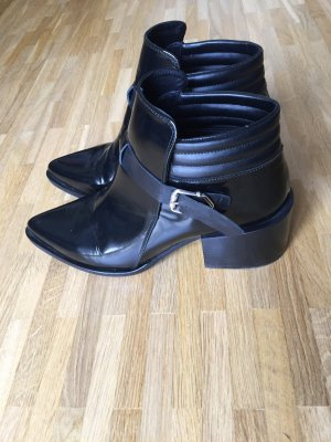 Topshop ankle boots mit blockabsatz