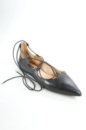Topshop Ballerinas mit Spitze schwarz Street-Fashion-Look