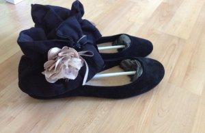 Topshop Ballerinas schwarz Größe 38,5 - 39ungetragen
