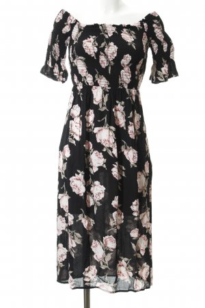 Topshop Bandeaukleid Allover-Druck Casual-Look