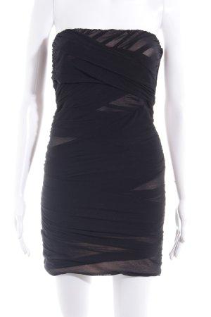 Topshop Bandeaukleid schwarz Elegant