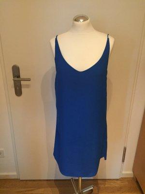 Topshop Vestido línea A azul