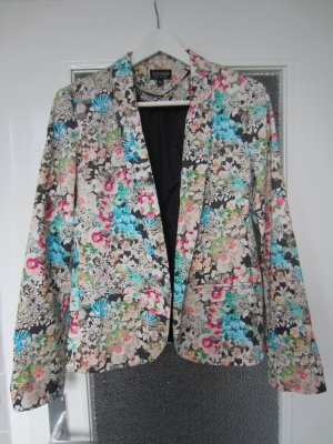 Topshop Blazer floral Blumenmuster Gr. 38 TOP