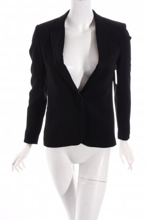 Topshop Blazer schwarz Business-Look