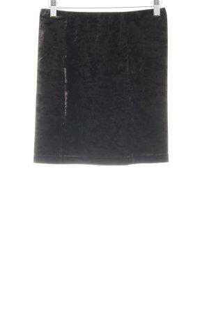 Topshop Bleistiftrock schwarz Gothic-Look