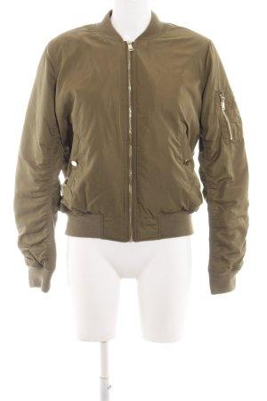 Topshop Blouson bronzefarben Casual-Look