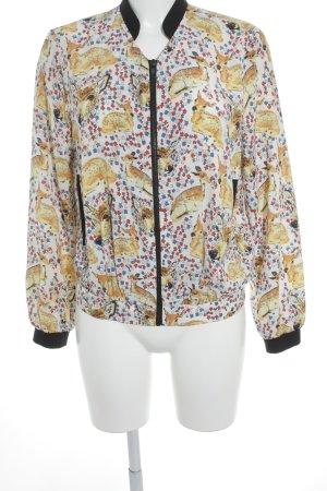 Topshop Blouson flower pattern minimalist style