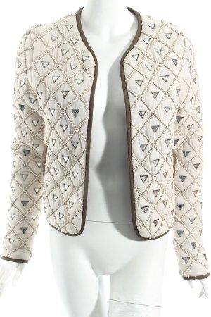 Topshop Blouson hellbeige-olivgrün Street-Fashion-Look