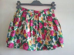Topshop Miniskirt pink-forest green
