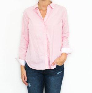 Topshop Bluse Hemd blogger preppy edel rosa