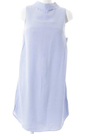 Topshop Robe chemisier bleu azur style classique