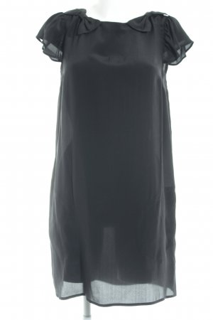 Topshop Blusenkleid schwarz Business-Look