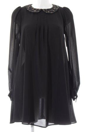 Topshop Blusenkleid schwarz Elegant