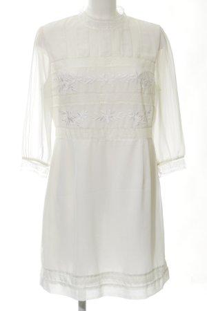 Topshop Blusenkleid weiß Elegant