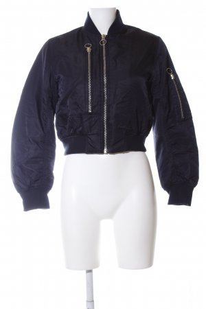 Topshop Giacca bomber blu stile casual