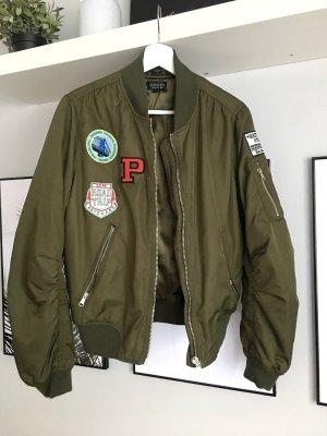 Topshop Bomber Jacket khaki