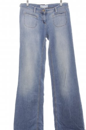 Topshop Boot Cut Jeans blau Casual-Look