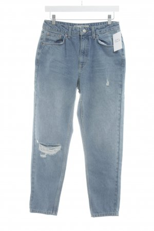 Topshop Boyfriend Jeans light blue casual look