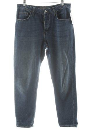 """Topshop Jeans boyfriend """"Moto"""" bleu"""