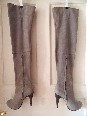 Topshop Brittany 2 Thigh High Wildleder Overknee Boots Stiefel 39 6 39,5