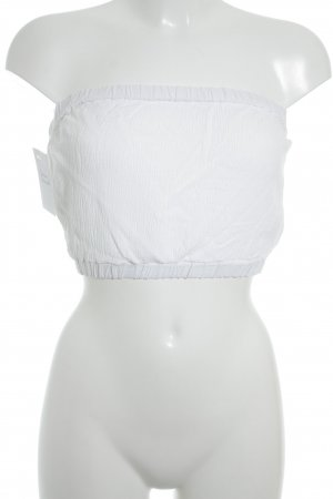 Topshop Top bustino bianco stile spiaggia