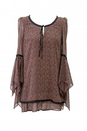 Topshop by Kate Moss Oberteil mit Muster