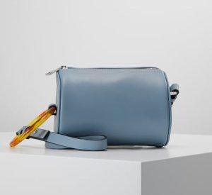 TOPSHOP CALI BARREL X BODY - Handtasche Tasche Neu Hellblau vegan