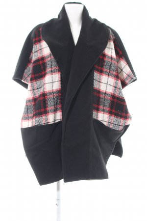 Topshop Cape check pattern casual look