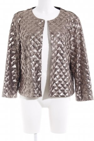 Topshop Cardigan goldfarben Party-Look