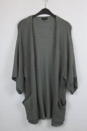 Topshop Cardigan Strickjacke Gr. 40 grün oversized (18/9/028)