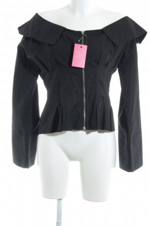 Topshop Carmen Shirt black casual look