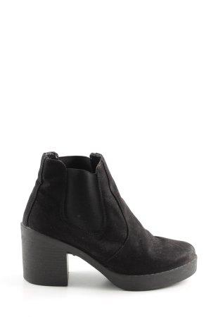 Topshop Chelsea Boots schwarz Casual-Look