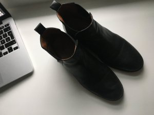 Topshop Chelsea Boots used look