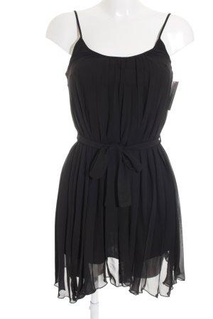 Topshop Chiffonkleid schwarz Elegant