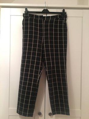 Topshop Pantalon 7/8 noir-blanc