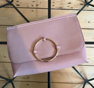 Topshop Clutch Bag Tasche Rosa Gold NEU