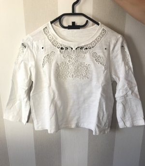Topshop Cropped Shirt Gr. 36
