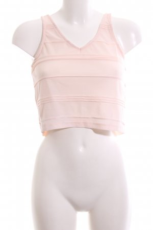 Topshop Cropped Top nude Casual-Look