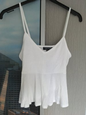 Topshop Cropped Top white